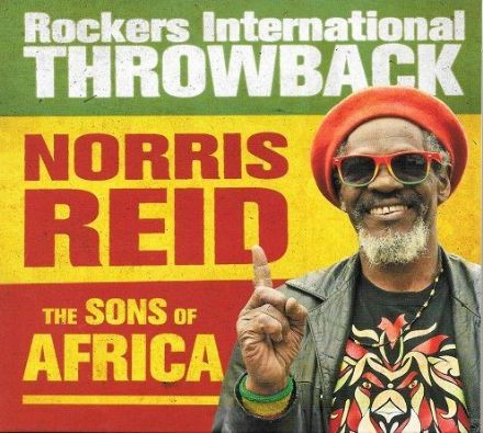 SALE ITEM - Norris Reid & The Sons Of Africa - Rockers International Throwback (Sound Of Thunder) CD